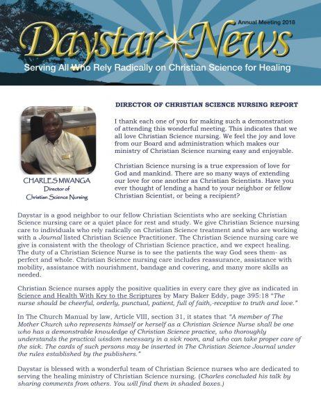 2018 Final Newsletter